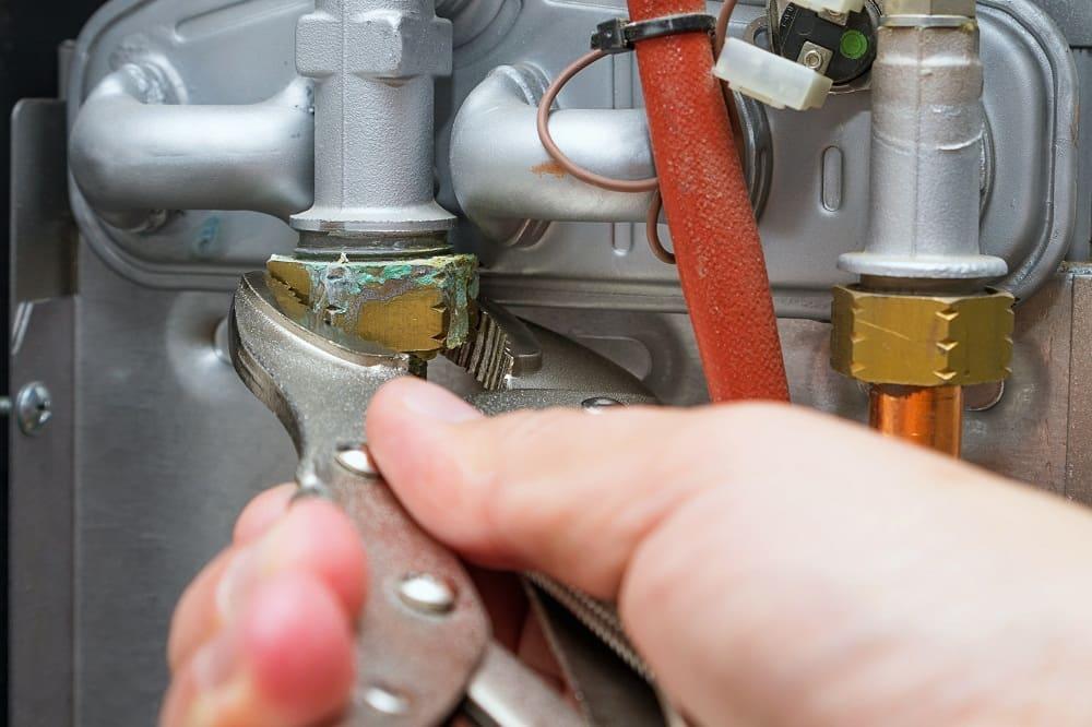naprawa gazowego kotła